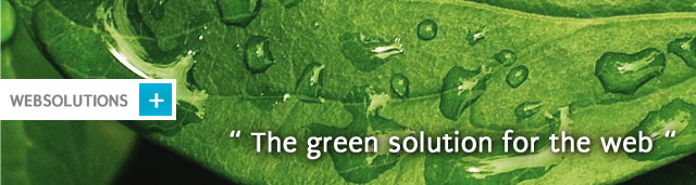 The green solution for the web
